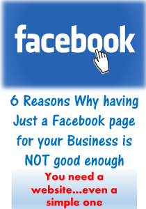 Having facebook page for business is not enough